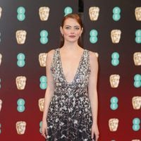 The star of 'La La Land', Emma Stone, at the BAFTA 2017