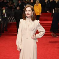 Isabelle Huppert at the red carpet of the BAFTA 2017