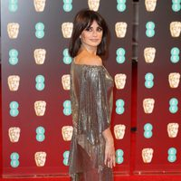 Penélope Cruz at the red carpet of the BAFTA 2017