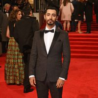 The actor of 'Rogue One, Riz Ahmed, at the red carpet of BAFTA 2017
