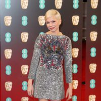 Michelle Williams at the red carpet of BAFTA 2017