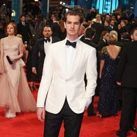 Andrew Garfield at the red carpet of the BAFTA 2017