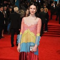 Caitriona Balfe at the red carpet of the BAFTA 2017
