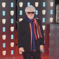 Pedro Almodóvar, director of 'Julieta', at red carpet of the BAFTA 2017