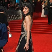 The actress of 'The Mummy', Sofia Boutella, at red carpet of the BAFTA 2017