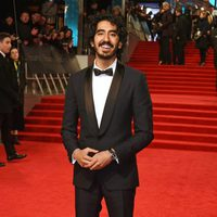 The actor of 'Lion', Dev Patel, at red carpet of the BAFTA 2017