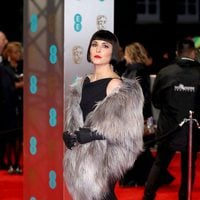 Noomi Rapace is a femme fatale at the BAFTAs 2017 red carpet