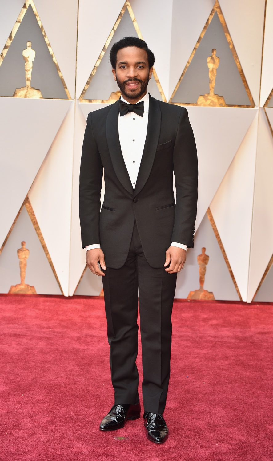 Andre Holland at the red carpet of the Oscars 2017