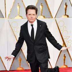 Michael J. Fox at the red carpet of the Oscars 2017