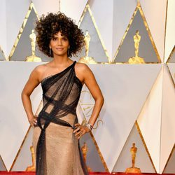 Halle Berry at the Oscars 2017 red carpet