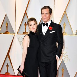 Michael Shannon and Kate Arrington at the Oscars 2017 red carpet