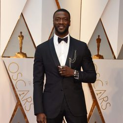 Aldis Hodges at the red carpet of the Oscars 2017