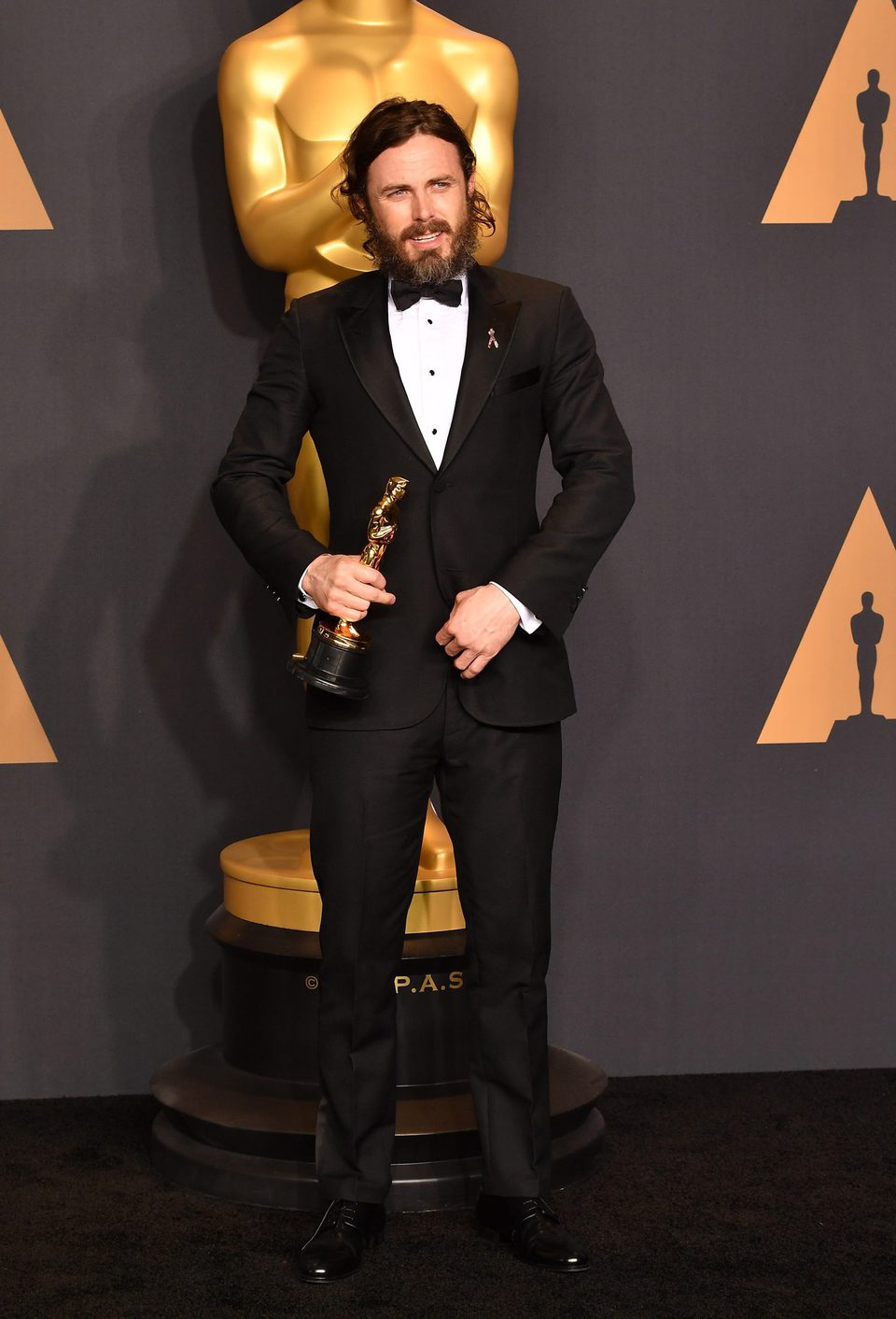 Casey Affleck Best Actor for 'Manchester by the sea'