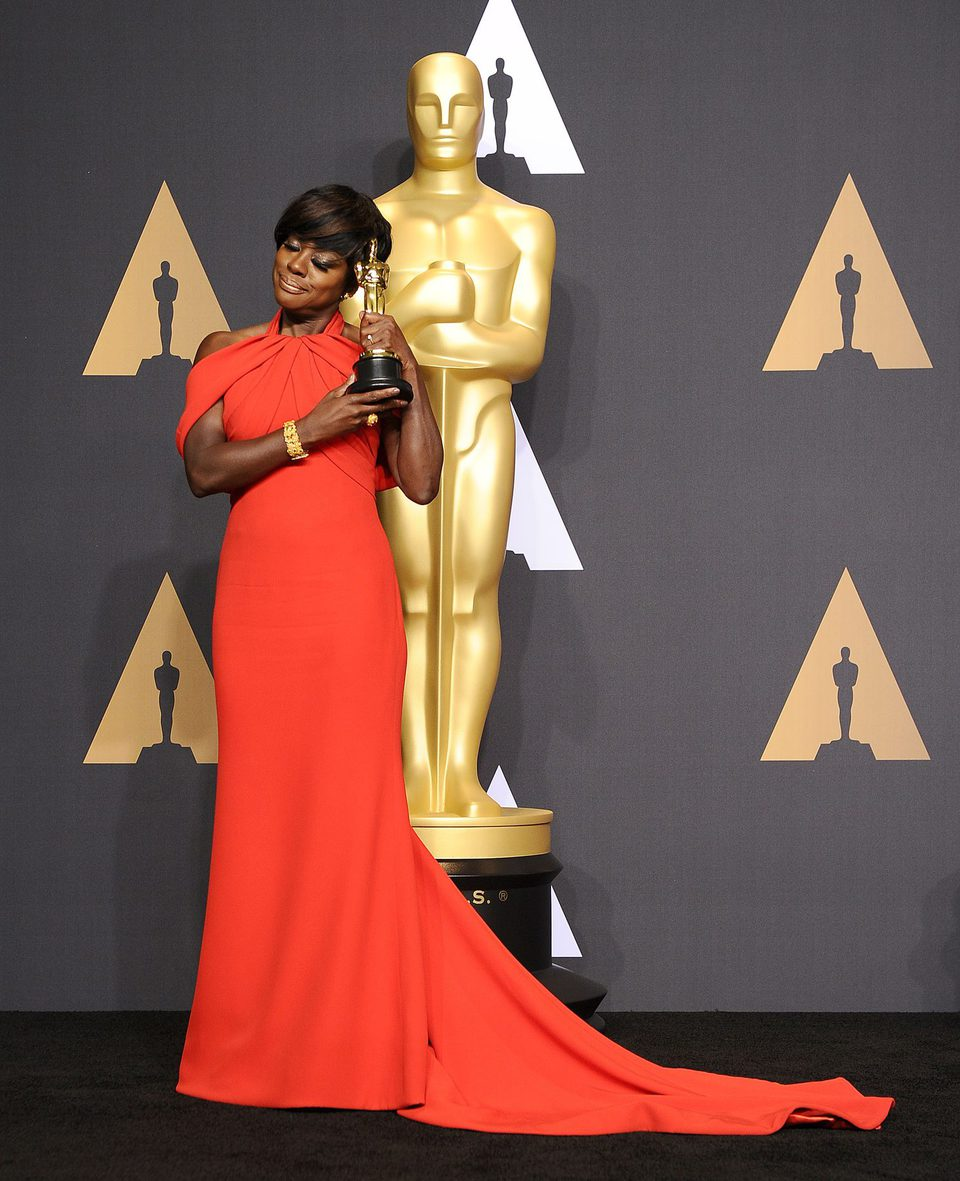 Viola Davis Best Actress in a Supporting role winner for 'Fences'