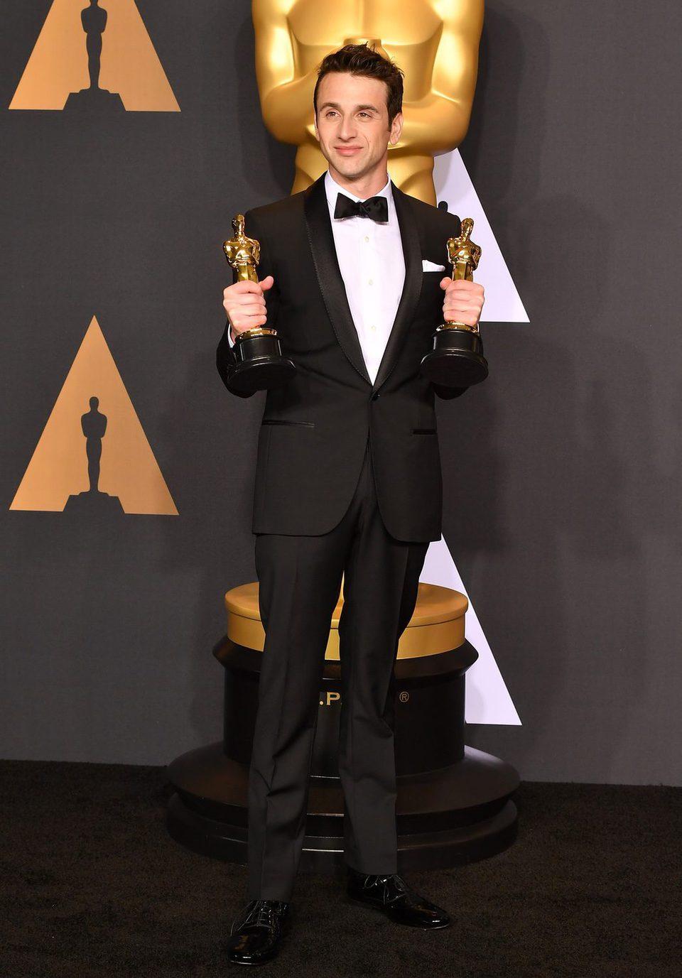 Justin Hurwitz, winner of the Oscar to Best Original Score for 'La La Land'