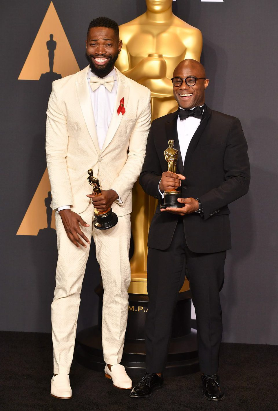 Barry Jenkins and Tarell Alvin McCraney, winners of the Oscar to Best Picture for 'Moonlight'
