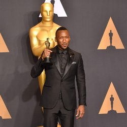 Mahershala Ali, winner of the Oscar to Best Actress in a Supporting Role for 'Moonlight'