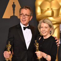 David Wasco and Sandy Reynolds-Wasco, winners of the Oscar 2017 for Best Production Design