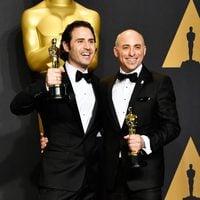 Alan Barillaro and Marc Sondheimer, winners of the Oscar 2017 for Best Animated Short Film