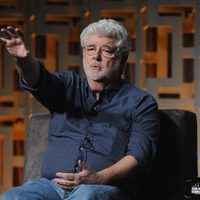 George Lucas talking about the saga in the Star Wars Celebration
