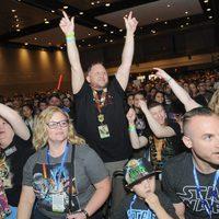 'Star Wars' fans during the Star Wars Celebration