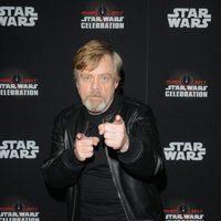 Mark Hamill posing in the Star Wars Celebration