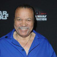Billy Dee Williams in the Star Wars Celebration
