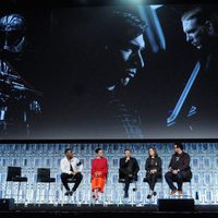 Kylo Ren and Boba Fet's images during 'The Last Jedi' at the Star Wars Celebration