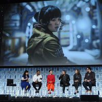 Rose's image during 'The Last Jedi' panel at the Star Wars Celebration