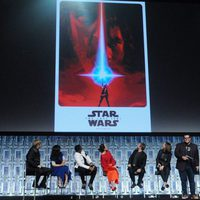 'The Last Jedi' poster at the Star Wars Celebration