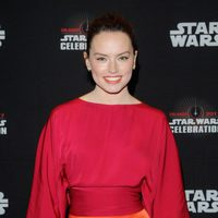 Daisy Ridley before 'The Last Jedi' panel at the Star Wars Celebration