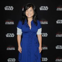 Kelly Marie Tran before 'The Last Jedi' panel at the Star Wars Celebration