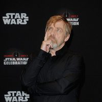 Mark Hamill before 'The Last Jedi' panel at the Star Wars Celebration