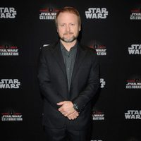 The director of 'The Last Jedi', Ryan Johnson, poses at Star Wars Celebration