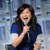 Kelly Marie Tran at the panel of 'The last Jedi' in the Star Wars Celebration