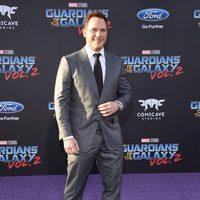 Chris Pratt at world premiere of 'Guardians of the Galaxy Vol. 2'