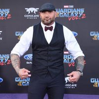 Dave Bautista at world premiere of 'Guardians of the Galaxy Vol. 2'