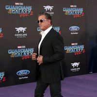 Sylvester Stallone at world premiere of 'Guardians of the Galaxy Vol. 2'