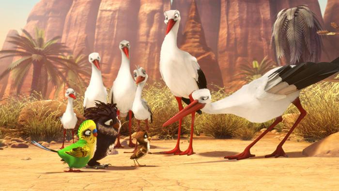A Stork's Journey, fotograma 2 de 6