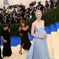 Elle Fanning on the Met Gala red carpet 2017