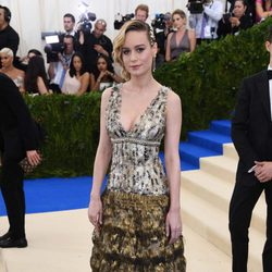 Brie Larson on the Met Gala red carpet 2017