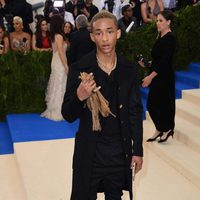 Jaden Smithon the Met Gala red carpet 2017