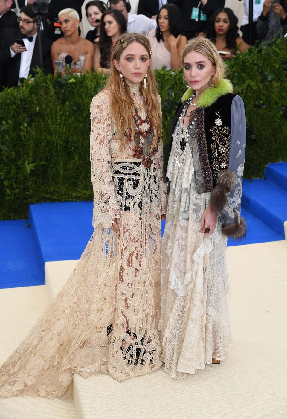 Mary-kate and Ashley Olsen on the Met Gala red carpet 2017