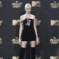 Cara Delevingne in the MTV Movie & TV Awards 2017 gala