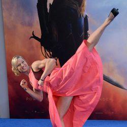 Jessie Graff at the premiere of 'Wonder Woman'