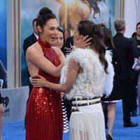 Gal Galdot and Elena Anaya at the 'Wonder Woman' premiere