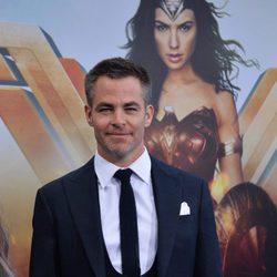 Chris Pine at the 'Wonder Woman' premiere