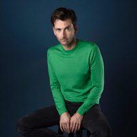 David Tenant poses in the Comic-Con 2017