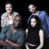 The casting of 'Marvels Defenders' in the Comic-Con