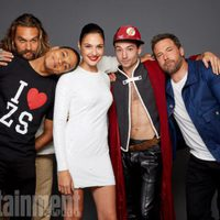 The cast of 'Justice League' in the Comic-Con 2017